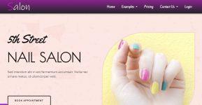 salon-website-template