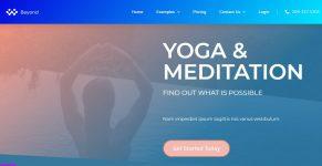 yoga-website-template